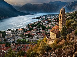Montenegro Day Trip to Kotor & Budva